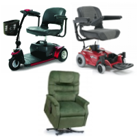 Rent Power Wheelchairs, Mobility Scooters, Lift Chairs