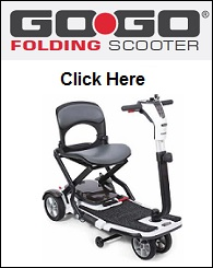 Pride Go-Go Folding Scooter