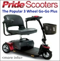 Pride Go-Go Plus Scooter