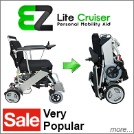 EZ Lite Cruiser - Folding Power Wheelchair on Sale