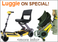 FreeRider Luggie Folding Scooter Special