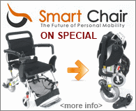 Smart Chair - Folding Power Wheelchair on Sale